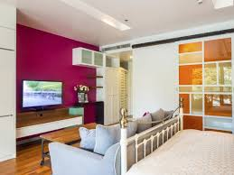 bedroom couch ideas. Plain Ideas A Modernstyle Bedroom That Combines Contemporary Bold Colors Like Berry  And Orange With Vintage Intended Bedroom Couch Ideas I