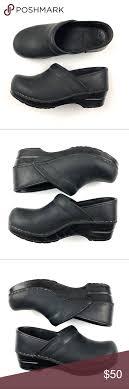 Dansko Clogs Size Chart Dansko Clog Shoe Black 36 Us 5 5 6 Slip On Matte Size 36