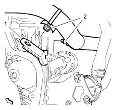 vauxhall workshop manuals > astra j > engine > engine cooling position the alternator and starter wiring harness