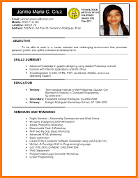 Ojt Sample Resume Sample Resume Mechanical Engineer Philippines Refrence Daily 2
