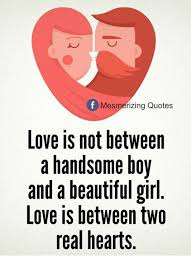 Two Beautiful Ladies Quotes Best of Mesmerizing Quotes Love Is Not Between A Handsome Boy And A