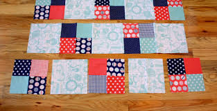 Simple Square Quilt Patterns Stunning Fast FourPatch Quilt Tutorial Diary Of A Quilter A Quilt Blog