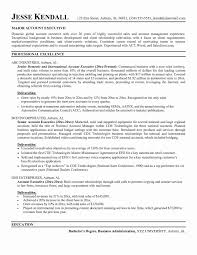 resume for account manager resume account manager advertising valid account executive sample