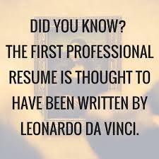 Kristen Gilbert On Twitter Da Vinci's Resume Is Certain To Have Gorgeous Leonardo Da Vinci Resume