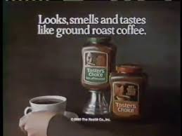 Nescafé taster's choice instant coffee lets you savor a fresh cup of coffee, instantly. Taster S Choice Coffee 1980 Commercial Youtube