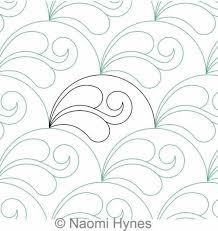 Best 25+ Machine quilting designs ideas on Pinterest | Machine ... & Drifting Clamshells P2P | Naomi Hynes | Digitized Quilting Designs Adamdwight.com