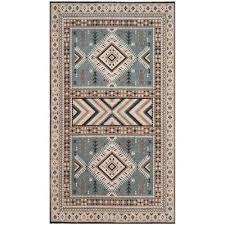classic vintage slate beige 3 ft x 5 ft area rug