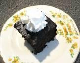 1940s vinegar cake    egg free