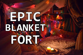 Easy Forts To Build Building A Blanket Fort Youtube