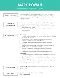 Examples Of Qualifications For Resumes Free Online Resume Samples From Myperfectresume Com