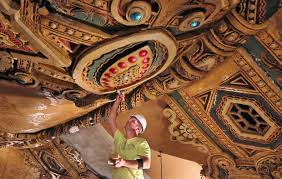 the fox theatre ceiling renovation