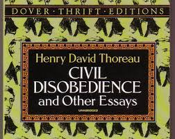 civil disobedience  civil disobedience and other essays by thoreau see photos and description includes walking