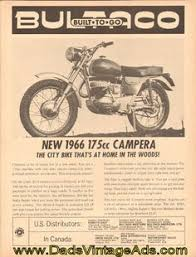 1967 vintage bultaco motorcycle brochure matador lobito 1966 bultaco 175cc campera vintage motorcycle ad the city bike that s at home in the