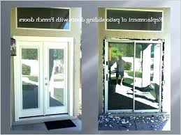 how to install french doors without frame french door picture frame repair french door frame impressive