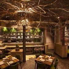 Tree branch lighting Chandelier Glowing Tree Canopies Illuminate Asian Restaurant Photos Hgtv Photos Hgtv