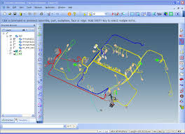 spacecable ptc creo cocreate cabling cabel harness design zuken e3 the user can interactively and automatically route cables and wires into harnesses check clearances determine wire and cable lengths calculate bundle