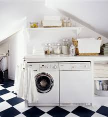 exciting laundry room design beautiful laundry room decoration design with diagonal black and white tile