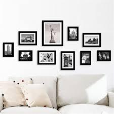 multi photo frames set home room office decor