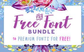 1.00 november 7, 2013, initial release. The Free Font Bundle Bundle Creative Fabrica