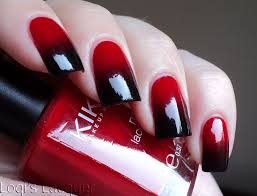 Nail Art Designs Black And Red Hession Hairdressing