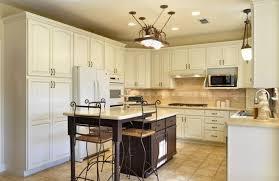 antique white glazed kitchen cabinets cute