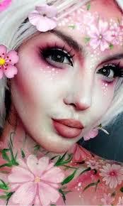 m fantasy makeup ideas flower face paint amazing cute