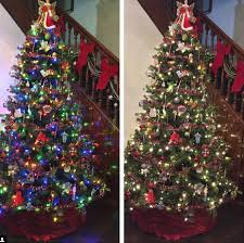 color changing christmas trees