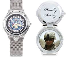army insigna locket style keepsake watches personalized army insigna locket style keepsake watches
