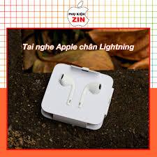 Tai nghe chân Lightning chính hãng Apple tốt giá rẻ