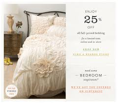 anthropologie s bedding gets a 25 off promo