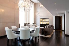 modern crystal chandeliers dining room