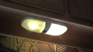 Changing Light Fixtures In Rv Travel Trailer Remodel Part 11 Led Bulb Upgrade