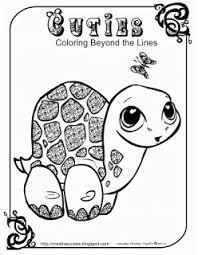 Quirky Artist Loft Cuties Free Animal Coloring Pages Kleurplaat