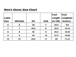 Sandal Size Chart Uk To India Weldone Bxr Black Canvas Sneakers