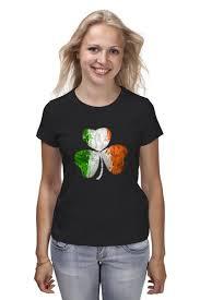 Футболка классическая <b>Ирландский</b> трилистник #1138609 ...