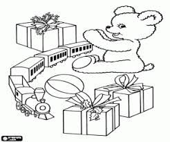 Small Picture Christmas gifts or christmas presents coloring pages printable games