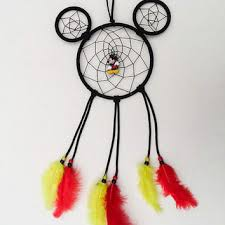 Mickey Mouse Dream Catcher Interesting Disney Mickey Mouse Inspired DreamcatCher From KnotYourDreams On