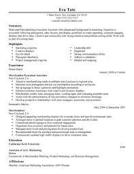 Best Merchandising Execution Associate Resume Example Livecareer