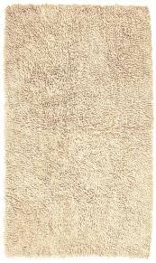 pinzon 100 cotton looped bath rug with non slip backing 30 x 50