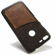 google pixel xl leather case chocolate and bruciato one card slot