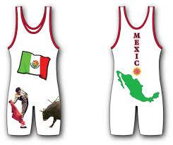Matman Singlet Size Chart Mexico Hi Cut Singlet
