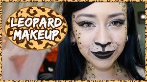 diy glitter leopard halloween makeup tutorial sc 1 st you