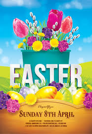 Free Easter Flyers Templates In Psd | By Elegantflyer
