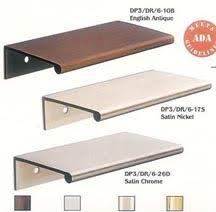 edge pull cabinet hardware. Delighful Hardware Doug Mockett Cabinet Pulls And Drawer Handles  Edge Recessed Door  To Edge Pull Cabinet Hardware A
