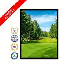vancouver canada golf course photo wall art framed canvas print decorative gift on golf wall art canada with golf home d cor giclees iris prints ebay