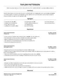99 Free Professional Resume Formats Designs Livecareer