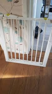2 mothercare safest start easy loc pressure fit safety gates