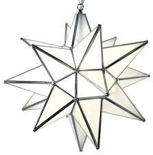 star pendant light frosted glass silver frame cool moravian home depot lighting