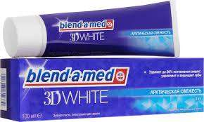 "<b>Blend</b>-a-<b>med Зубная паста</b> ""<b>3D</b> White"", 100 мл — купить в ..."