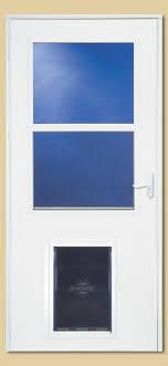 exterior door with window and dog door. 3707803 larson storm door with xl pet exterior window and dog e